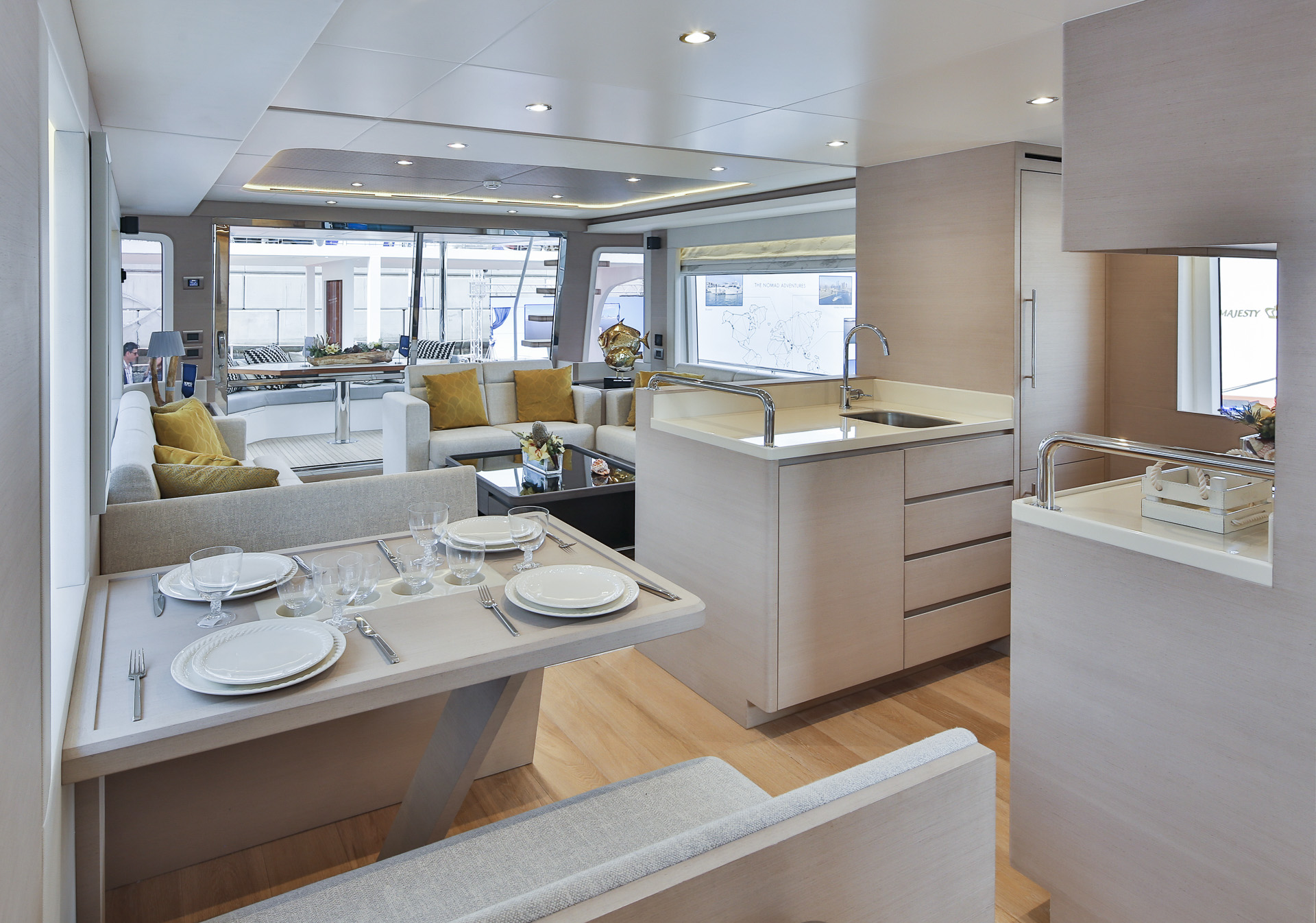 Dining and Galley