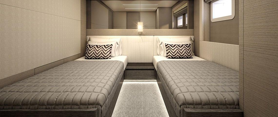 Nomad 95 SUV - Interior Twin Room