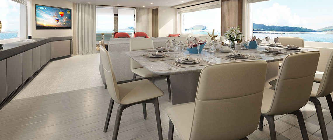 Nomad 95 SUV - Living Space