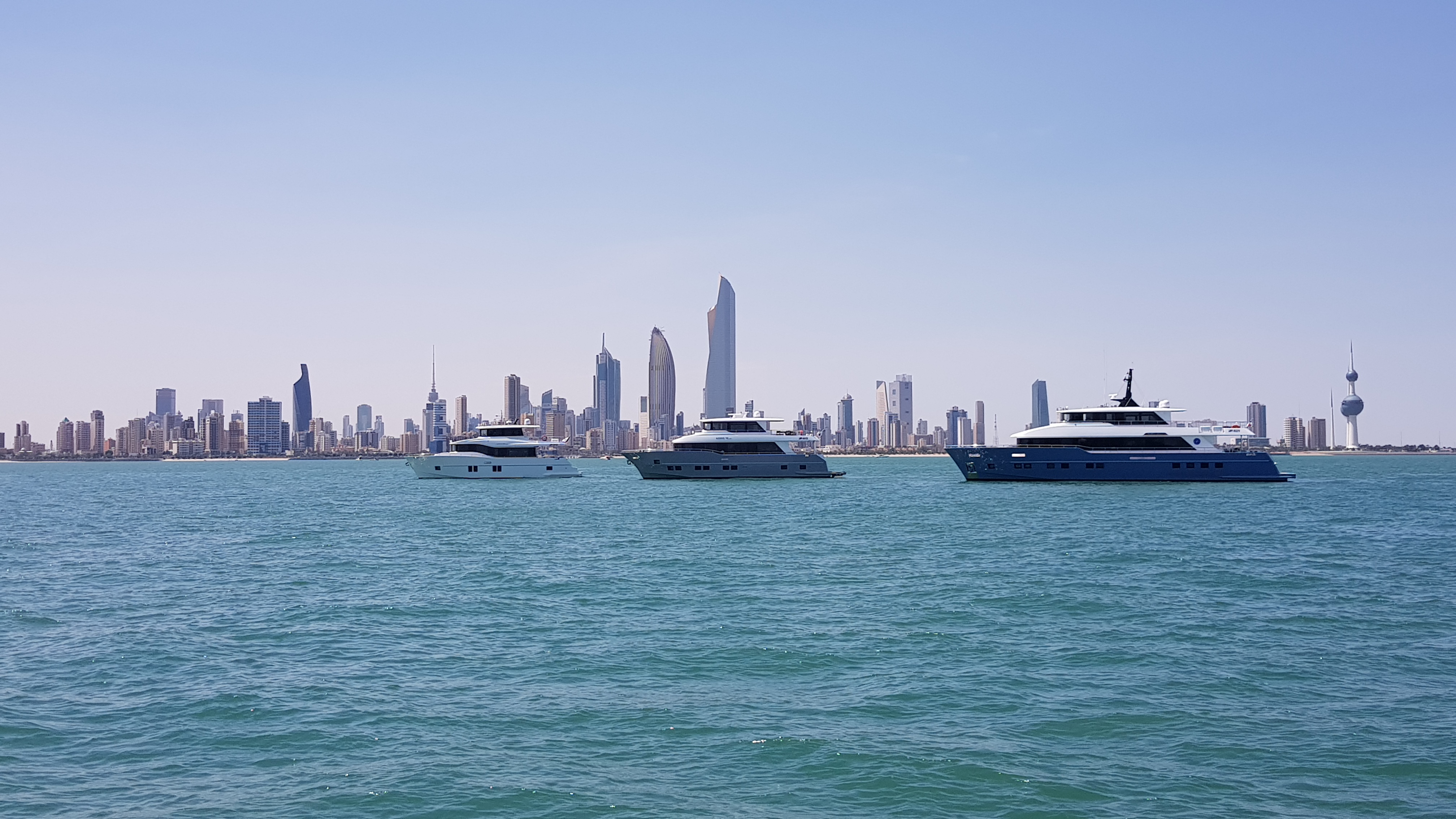 Nomad Yachts SUV Collection visits  Kuwait