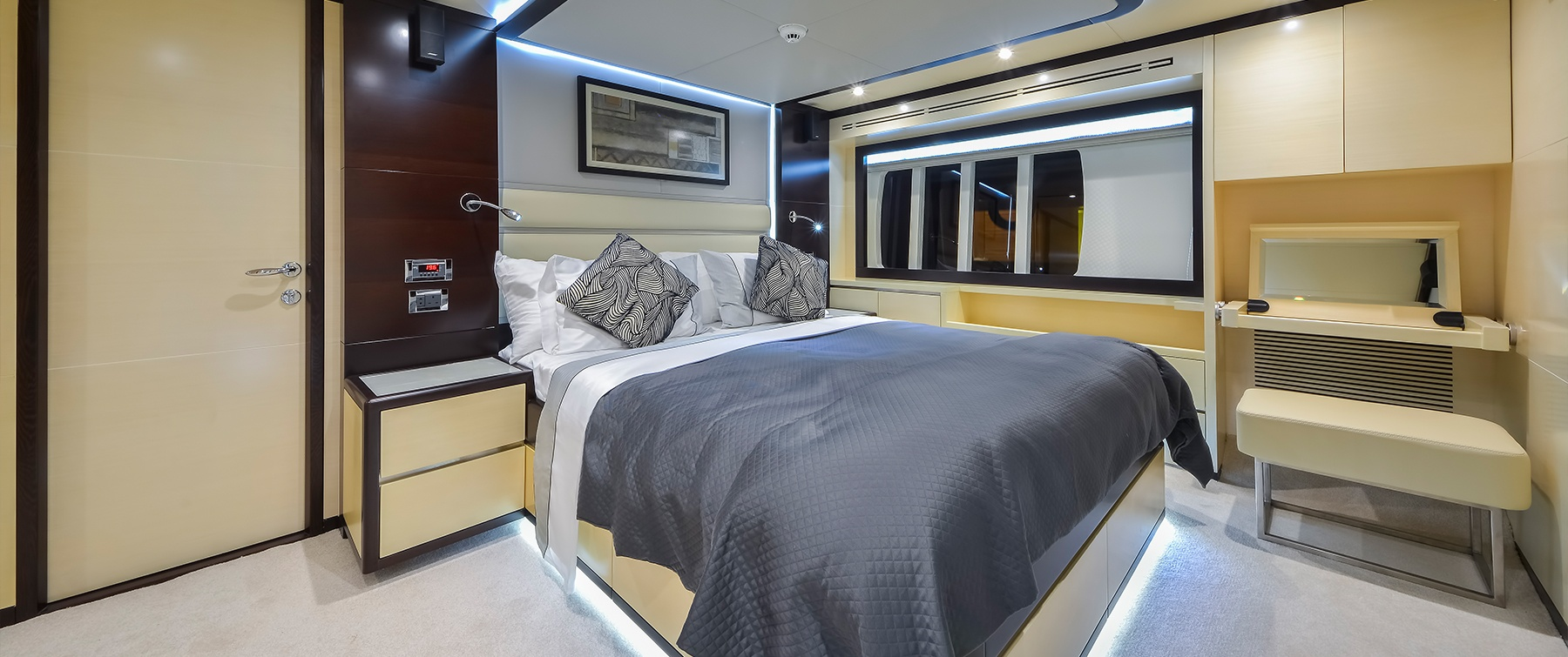 Master Bedroom in the Nomad 75